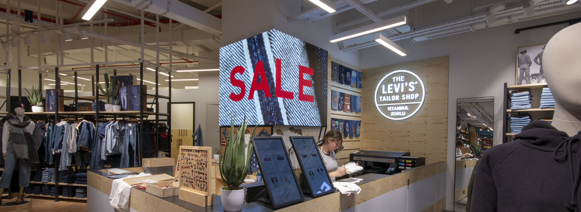 LEVI'S Retail Shop LED-Display