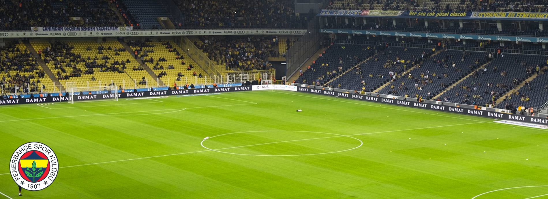 Fenerbahçe Football Club Perimeter Led Screen Project