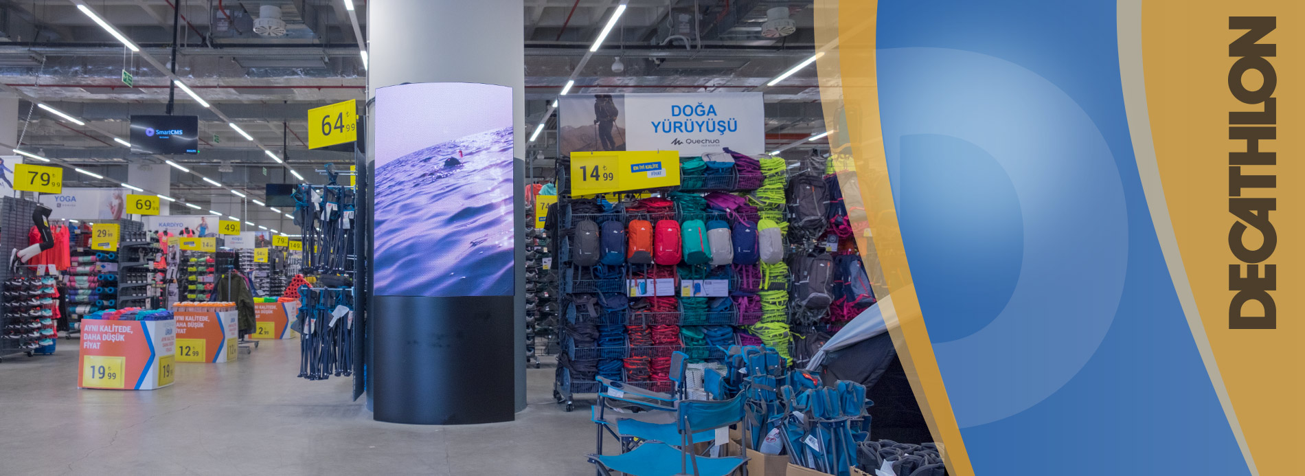 Decathlon Led Screen Project