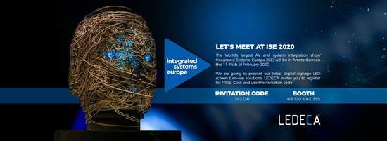 Let's Meet At ISE 2020