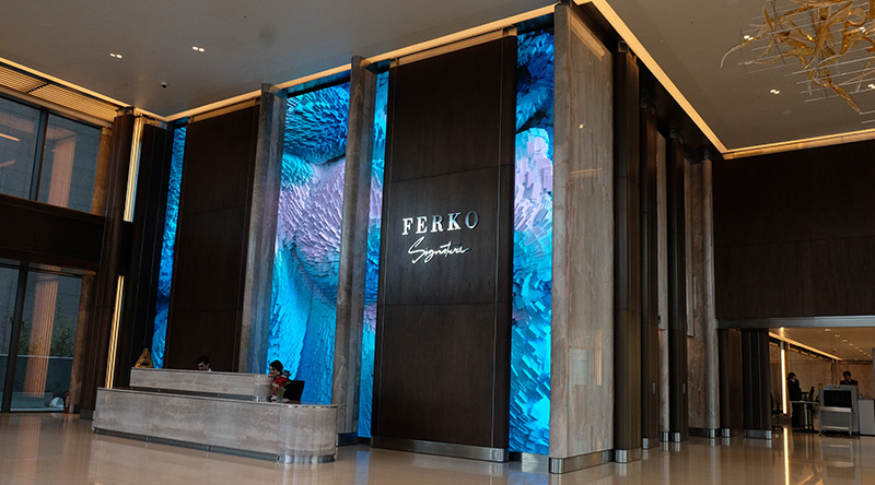 Ferko Signature Lobby Led Screen
