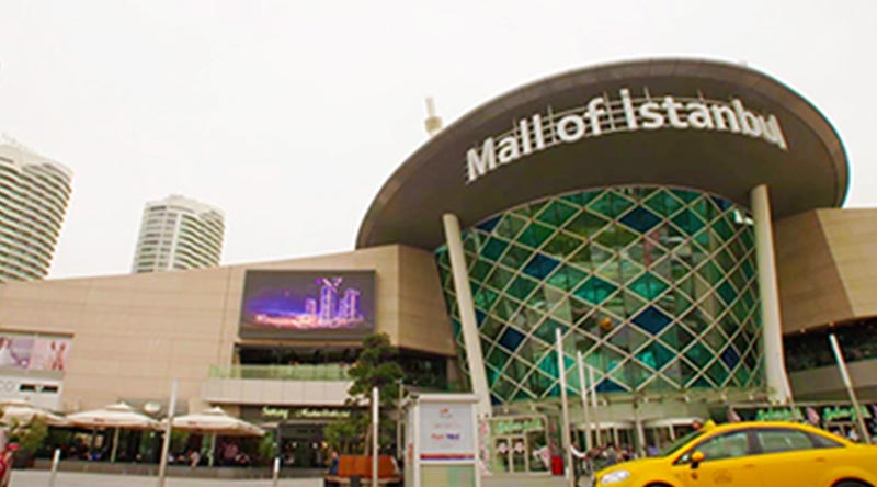 Mall of İstanbul Outdoor LED Screen Project