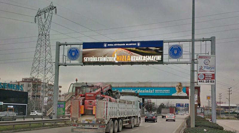 İstanbul VMS-VTS Outdoor Led Screen Project