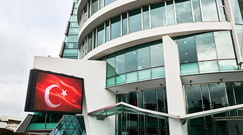 Ankara Kızılay Chamber of Industry Outdoor Led Screen Project