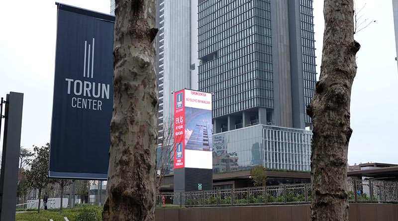 Mecidiyeköy Torun Center Led Screen Project
