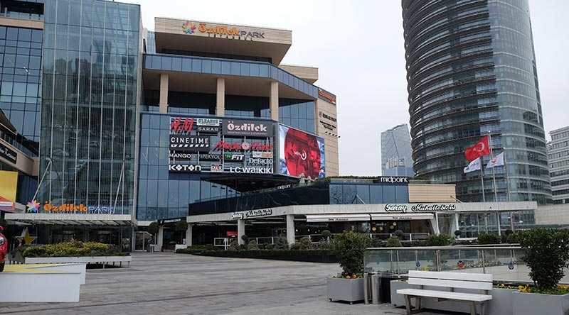 Özdilek Mall Outdoor Led Screen Project
