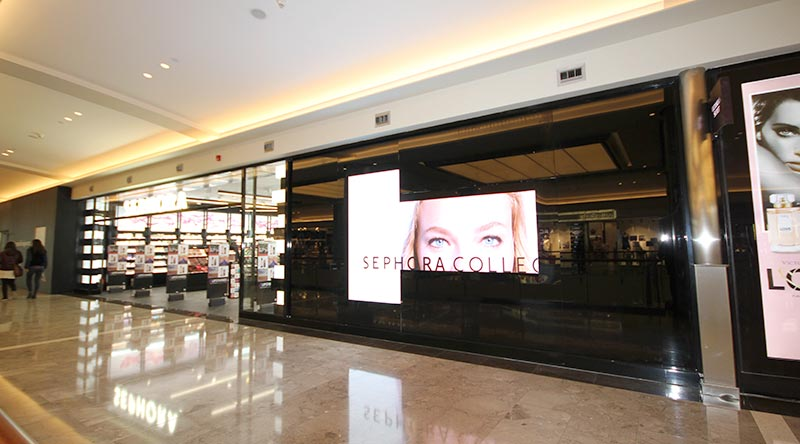 İstinye Park Mall Sephora Indoor Led Screen Project
