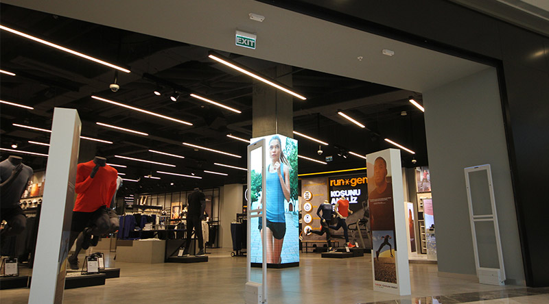 Vadi İstanbul Adidas Led Screen Project