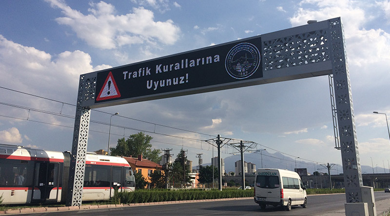 Kayseri VMS-VTS Outdoor Led Screen Project