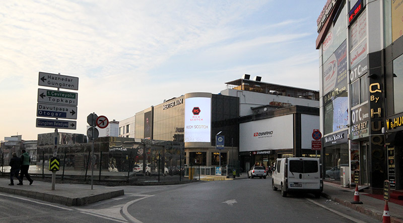 Merter Shopping Mall Curved Led Screen Project