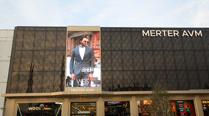 Merter Shopping Mall Led Screen Project | Ledeca