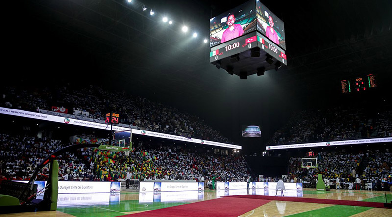 Dakar Arena Perimeter Led Screen