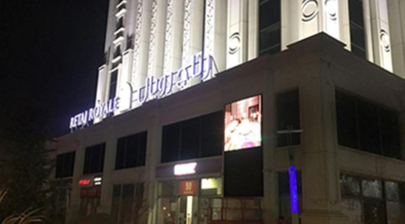 İstanbul Retaj Royale Hotel Outdoor Led Screen Project