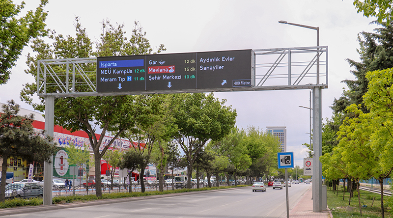 Konya VMS Outdoor-LED-Bildschirmprojekt