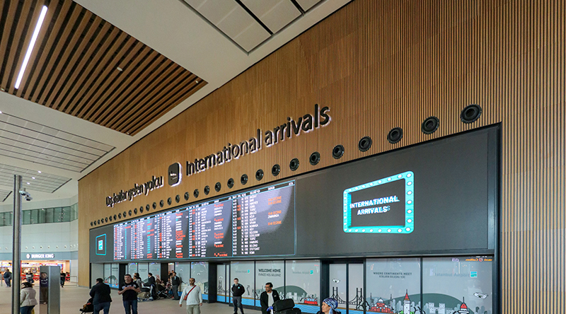 Istanbul Airport Arrivals FIDS Led Screen