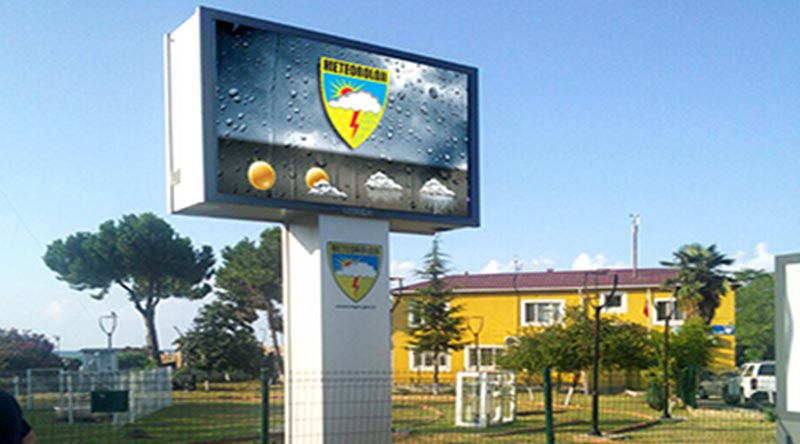 Samsun Meteorology Directorate Outdoor Led Screen Project