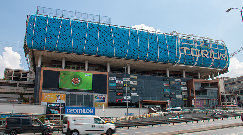 Torium Shopping Mall LED Screen Project