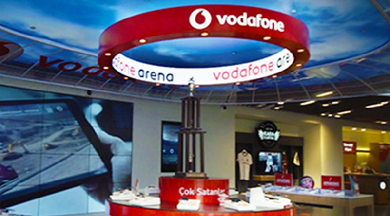 Vodafone Canopy LED Screen Project İstanbul