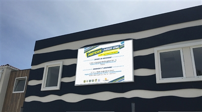 Hyeres Municipality Facade Led Screen