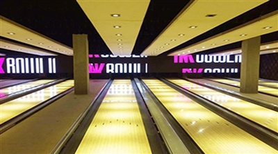 İstanbul Cinema Pink Bowling Indoor Led Screen Project