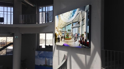 Ankara ONS Incek Residence Indoor Led Screen Project