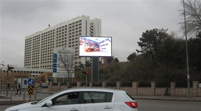 Ankara Ministry of Transport Outdoor Led Screen Project