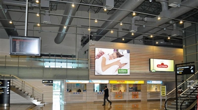 Trabzon International Airport Indoor Led Screen Project