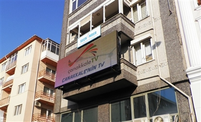 Çanakkale TV Outdoor Led Screen Project