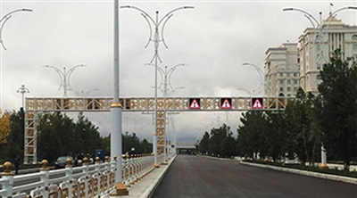 Asghabat Outdoor VMS-VTS Traffic Outdoor Led Screen