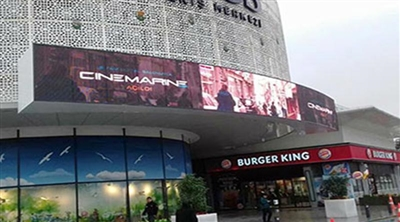 Rings Mall Cinemarine Signage Led Screen