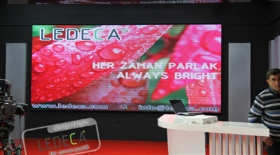 Kayseri TV Studio Led Screen Project