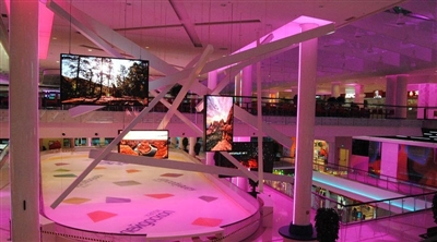 Moscow Kaleydeskop Mall Led Screen Project