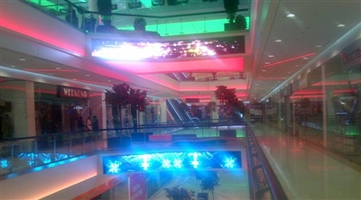 Moscow Kaleydeskop Mall Led Screen Project 2/2