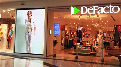 Mall of İstanbul Defacto Indoor Led Screen Project