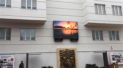 Beylikdüzü Zübeyde Ana Culture Center Outdoor Led Screen Project