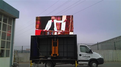 Edirne Keşan Mobile Outdoor Led Screen Project