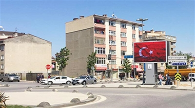 İstanbul Sancaktepe Outdoor Led Screen Project