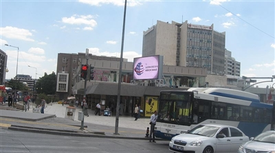 Ankara Ulus Ministry of Transport Outdoor Led Screen Project