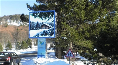 Bursa Uludağ National Park Outdoor Led Screen Project