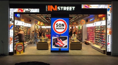 İstanbul Perlavista Sport In Street Indoor Led Screen Project