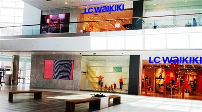 Modern East LC Waikiki Store Indoor Led Screen Project