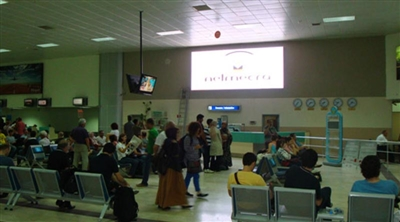 Samsun Airport Indoor Led Screen Project