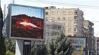 Diyarbakır OOH Led Screen Project