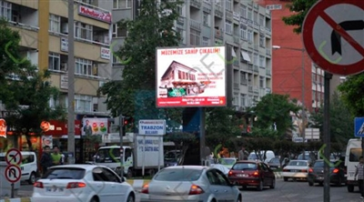 Kahramanmaraş OOH Led Screen Project 2