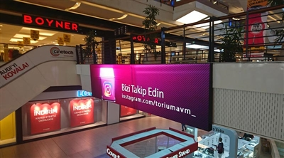 Torium Mall Indoor Led Screen Project