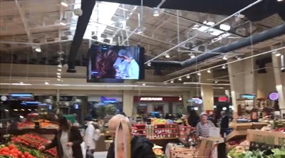 İstinye Carrefour Indoor Cube Led Screen Project