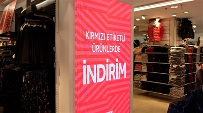 Beyoğlu LCW Store Indoor Led Screen Project