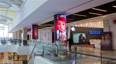 EYÜP Park Shopping Mall Melek Cinema Cylinder Led Screen Project