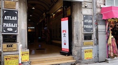 Beyoğlu İstiklal Atlas Passage Led Screen Project