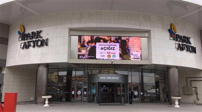 Afyon Park Mall Led Screen Project